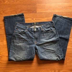 Men's 7 for all Mankind Bootcut Jeans - 36 x 31